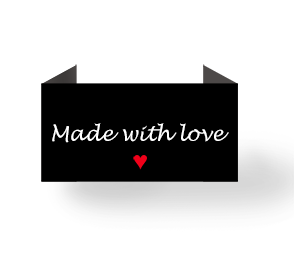 Made with love - black - Laatste pagina